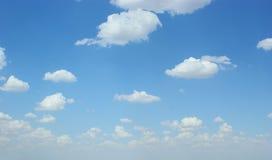 Cloud spread. On the Sky stock image