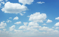Cloud spread. On the Sky stock images