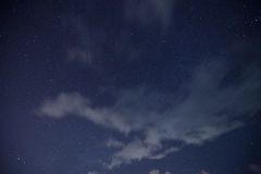 Cloud ,star,MilkyWay Royalty Free Stock Photo