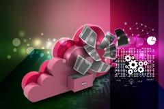 Cloud storage concept Stock Image