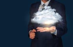 Cloud storage concept. Stock Photos