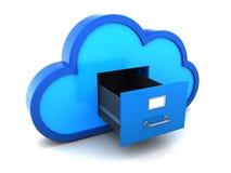 Cloud storage Royalty Free Stock Photo