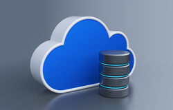 Cloud storage Royalty Free Stock Image