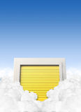 Cloud Storage Locker royalty free illustration