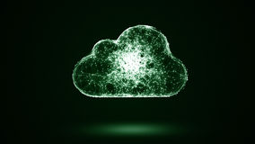 Cloud storage Royalty Free Stock Photography