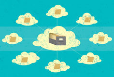 Cloud Storage Royalty Free Stock Images
