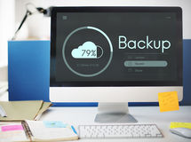 Free Cloud Storage Upload Interface Concept Royalty Free Stock Photos - 83518918