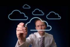 Cloud Storgage Royalty Free Stock Photos