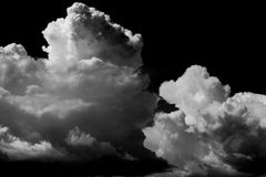 Cloud storm Stock Image