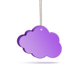 Cloud on a string Royalty Free Stock Photography