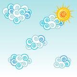 Cloud and sun Stock Image
