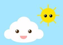 Cloud and sun Stock Photo