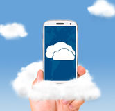 Cloud technologies Royalty Free Stock Photos