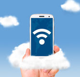 Cloud technologies Stock Images