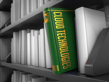 Cloud Technologies - Title of Book. Educational Stock Image