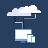 Cloud technology2 Stock Photography