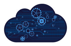 Cloud technology Stock Image
