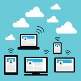 Cloud technology Royalty Free Stock Photos