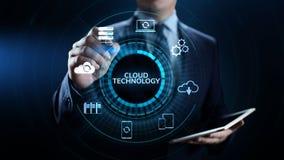 Cloud technology computing networking data storage internet concept. vector illustration