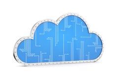 Cloud technology computing Stock Image