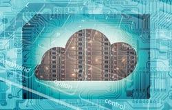 Cloud Technology Concept vector illustration