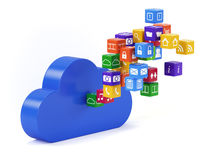 Cloud technology Stock Image