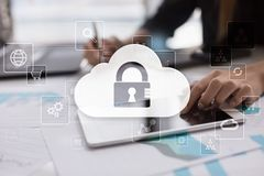 Cloud technology. Data storage. Networking and internet service concept. Cloud technology. Data storage. Networking and internet service concept Stock Images