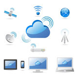 Cloud Technology Internet Royalty Free Stock Image