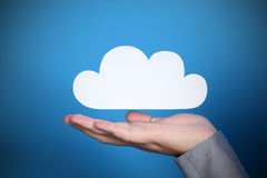 Cloud technology Royalty Free Stock Images
