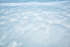 Cloud texture, sea ​​of ​​Clouds Stock Photography