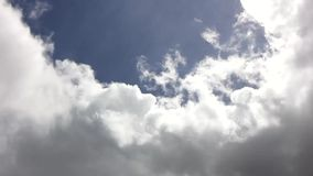 Cloud timelapse stock footage