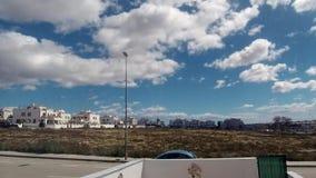 Cloud Timelapse in Spain. Clouds over Spain Time Lapse, Timelapse, Time-Lapse on a sunny day stock video footage