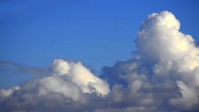 Cloud timelapse of varous changing formations Stock Photo