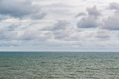 Cloud to sky at the ocean Stock Photography
