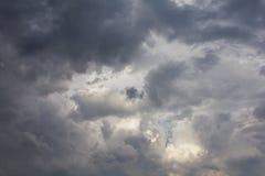Cloud turbulence. Stock Photos