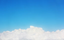 Cloud under blue sky Stock Photos
