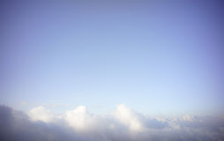 Cloud under the blue sky Royalty Free Stock Photos