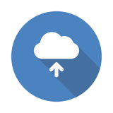 Cloud Upload icon Royalty Free Stock Photography