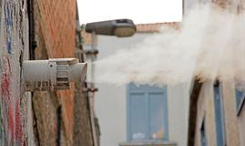 Cloud of vapor Stock Photography