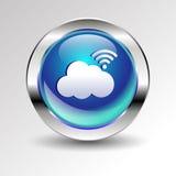 Cloud vector icon set symbol illustration sky Stock Photo