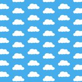 Cloud wallpaper Stock Photography