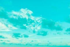 cloud white Arkivbilder