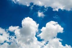 cloud white Royaltyfria Foton