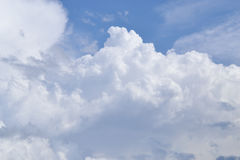 cloud white Bakgrund Royaltyfri Fotografi
