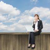 Cloud work Stock Photography