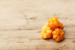 Cloudberries Stock Photography