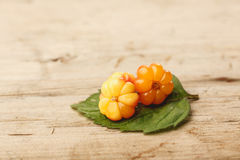 Cloudberries Royalty Free Stock Images