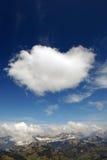 Cloudburst alpino Fotografia Stock Libera da Diritti