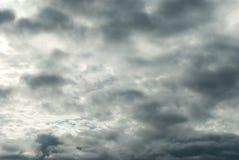 Cloudcape orageux sinistre photo libre de droits