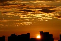 cloudds słońca Obrazy Stock
